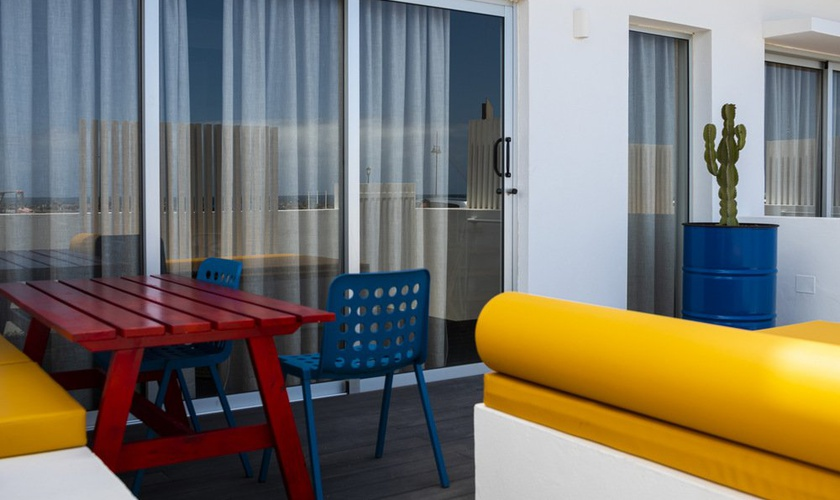 Duplex with terrace and direct access from the street  buendía corralejo fuerteventura